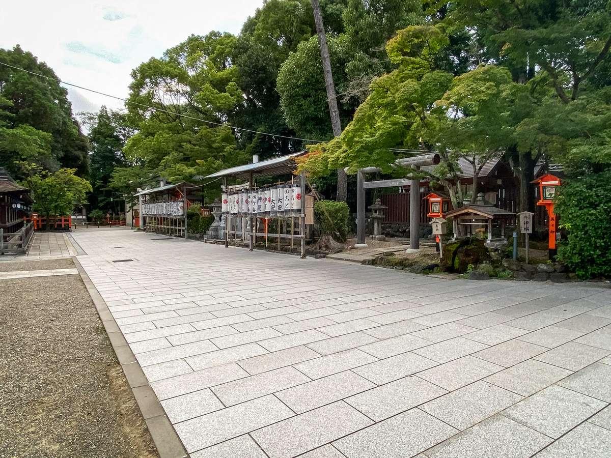 八坂神社 参道