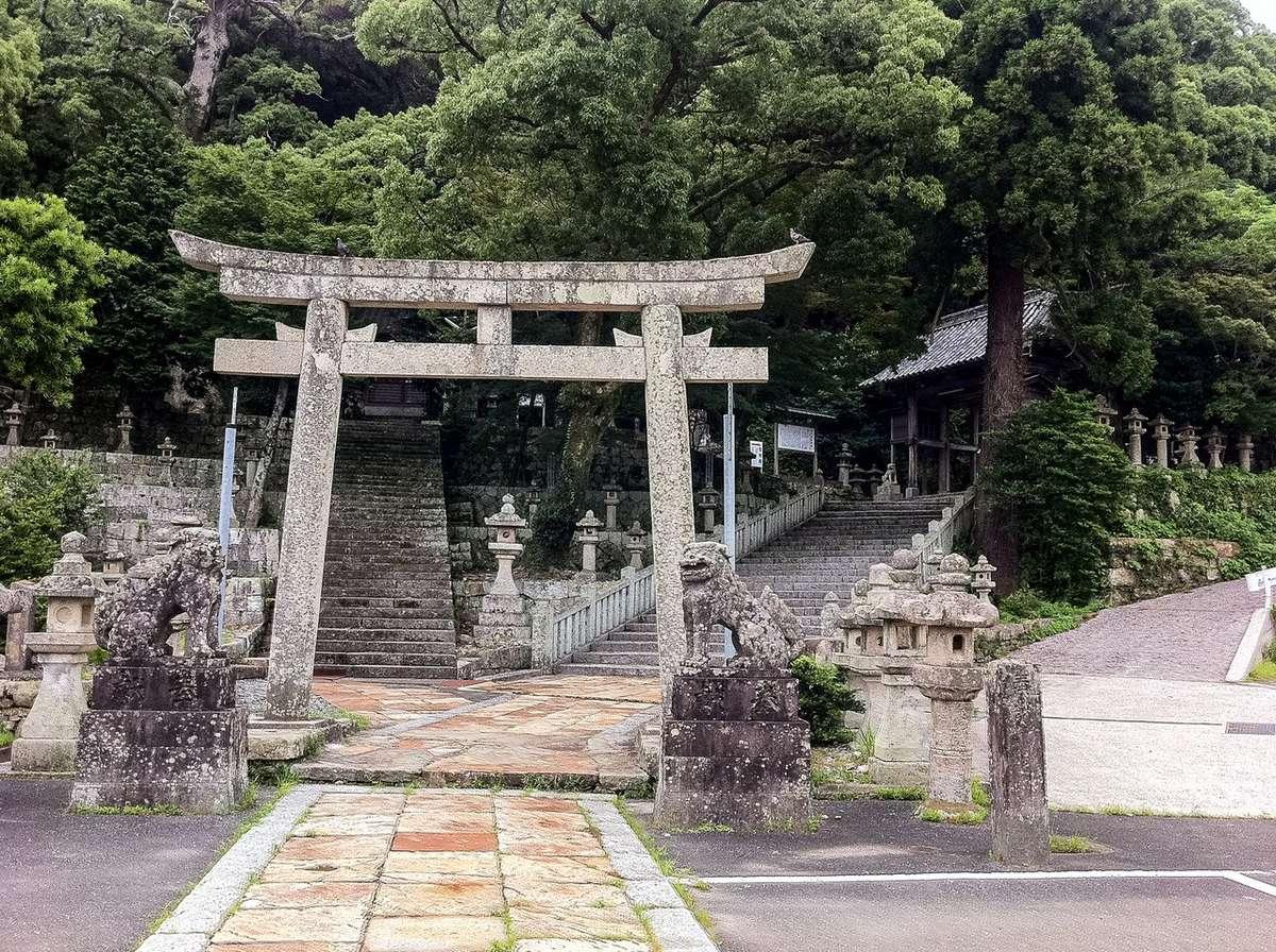 八幡宮神社(対馬) 鳥居